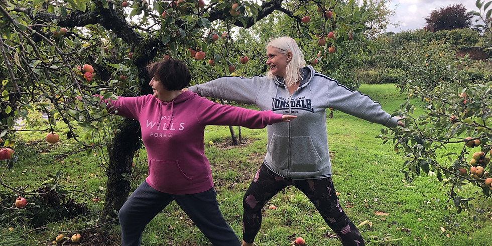 Covid Secure Iyengar Yoga Weekend Retreat with Angie Hulm at Oxonhoath Country Estate 2021
