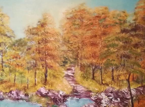 Autumn Walk 40x30cm