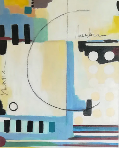 In the Space 54x74cm SOLD