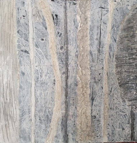 Silver Forest 1 40x40cm