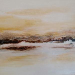 Calm Evening - Acrylic on Board 33x24cm