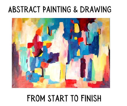 Abstract Painting & Drawing From Start t