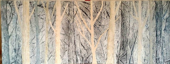 Abstract Painting Through the Woods.jpg