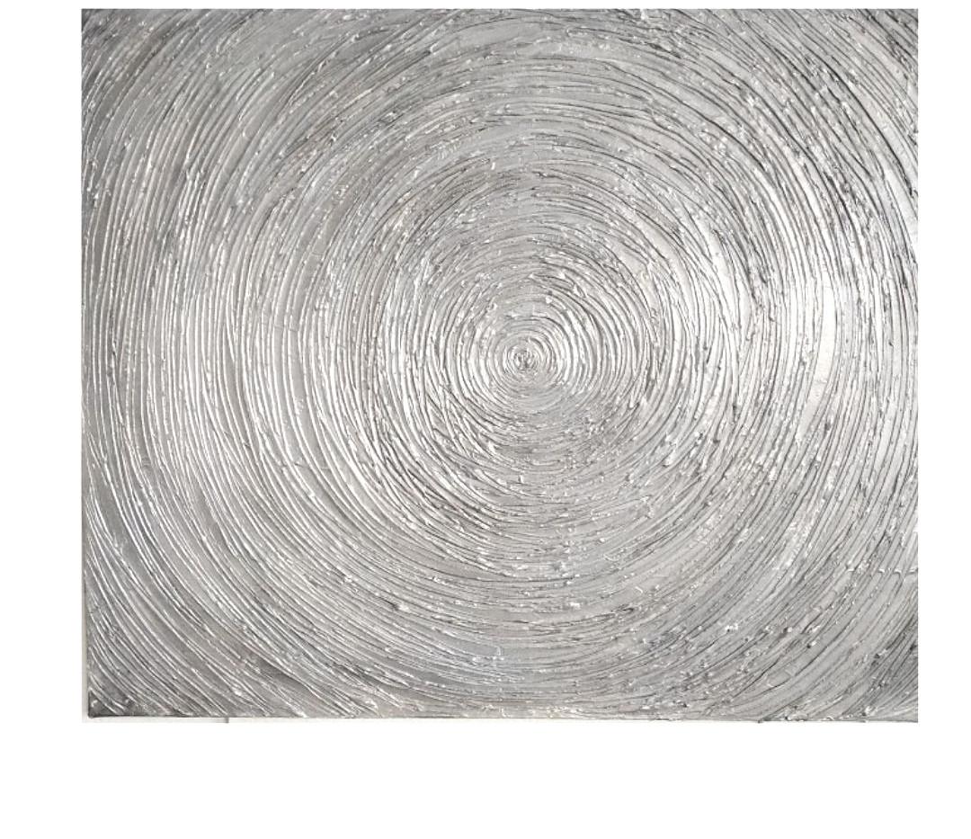 Silver Expansion.100x80cm