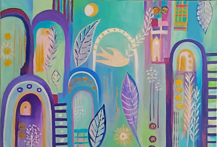Peace in the World 70x50cm