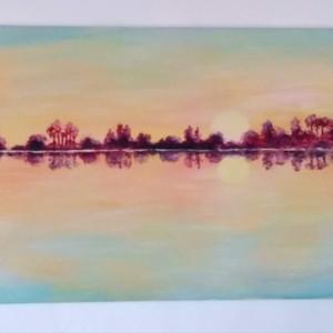 Reflections. Acrylic on Canvas 30x40cm