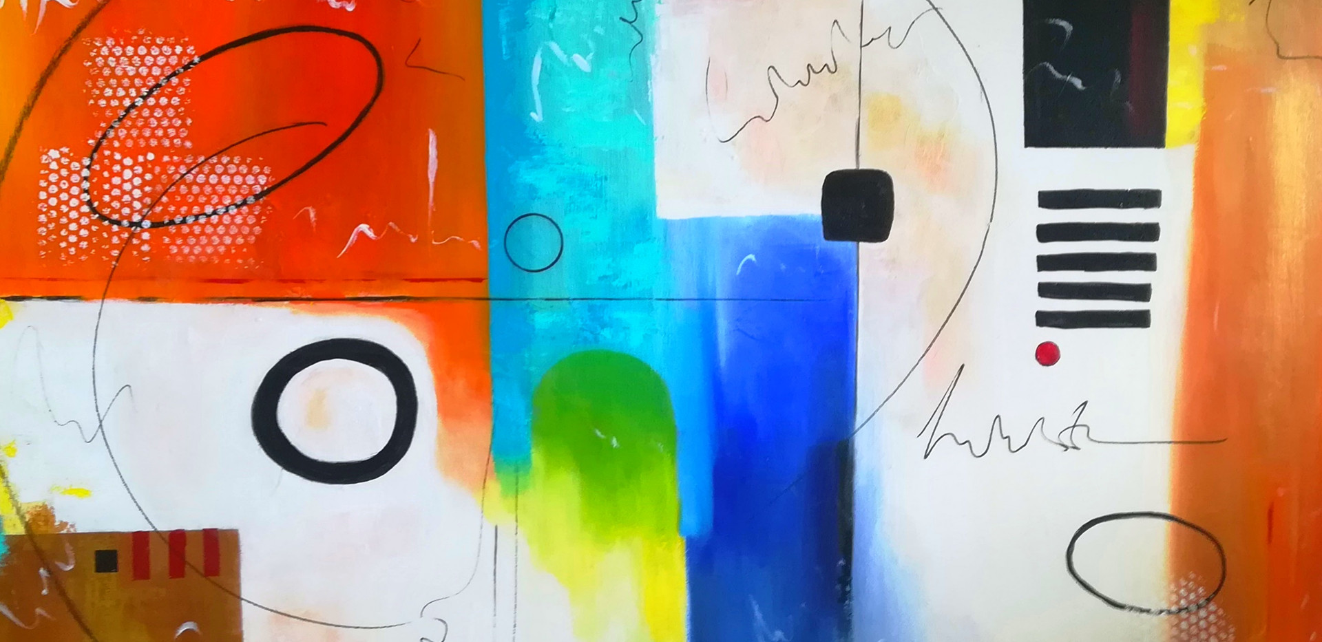 Freedom to Breath - Acrylic on Canvas 140x100cm SOLD