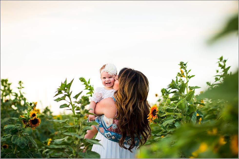 Sunflower Minis | Northern Colorado Sunflower Fields | Colorado Family Photography