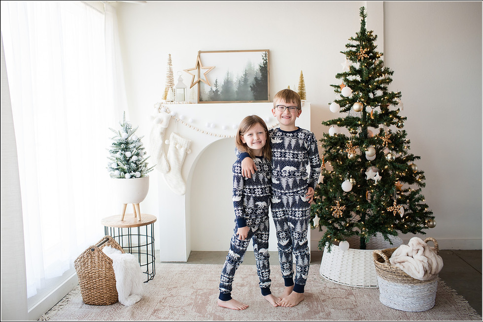 Merry Christmas | Christmas Studio Minis | Northern Denver Kids Photography