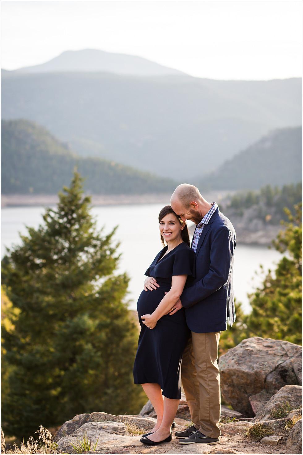 Matt + Stephanie | Pregnancy Photoshoot | Boulder Maternity Photos