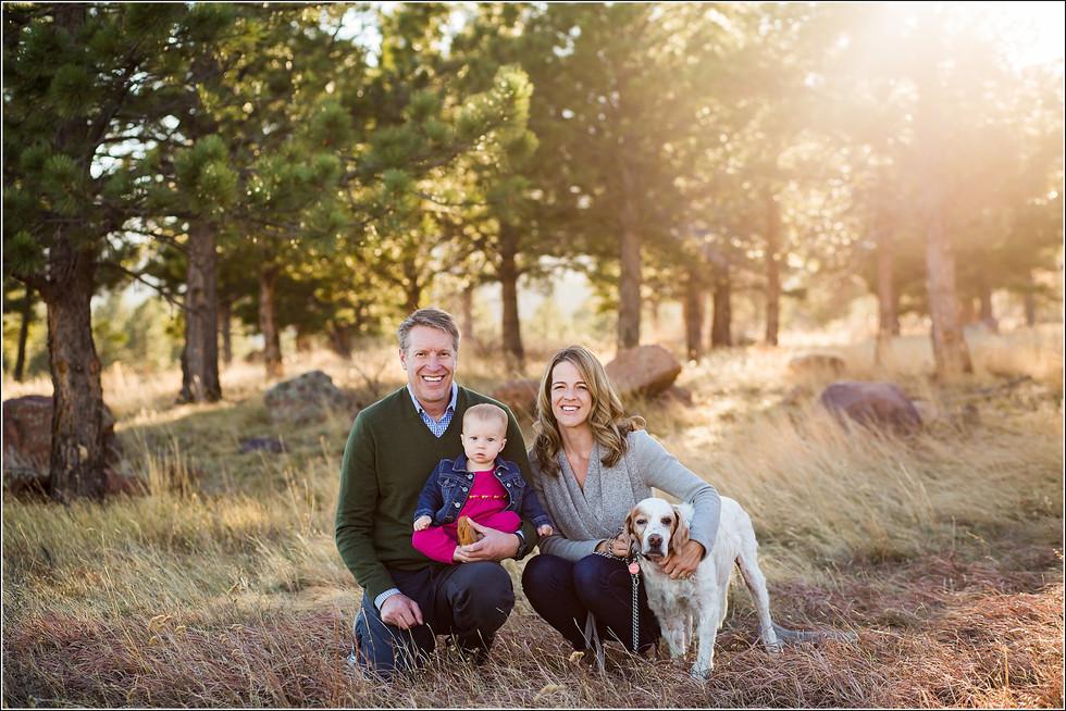 The K Family | Outdoor Fall Family Photos | Boulder Family Photographers | Family Photoshoot