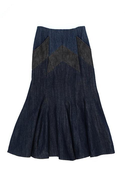 ナバホカッティングマーメードスカート