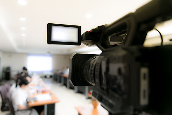 video-camera-in-business-conference-room