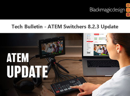 Tech Bulletin - ATEM 8.2.3 Update