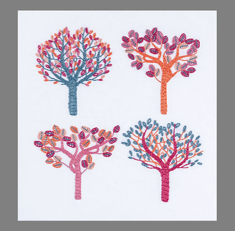 Stylised trees