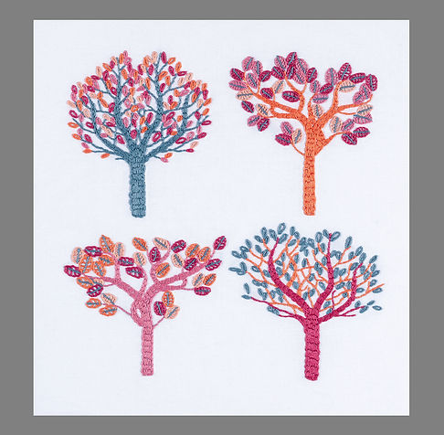 Stylised trees