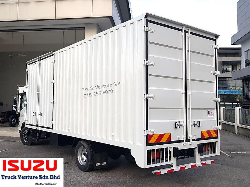 21 Kaki Bonded Lorry Isuzu