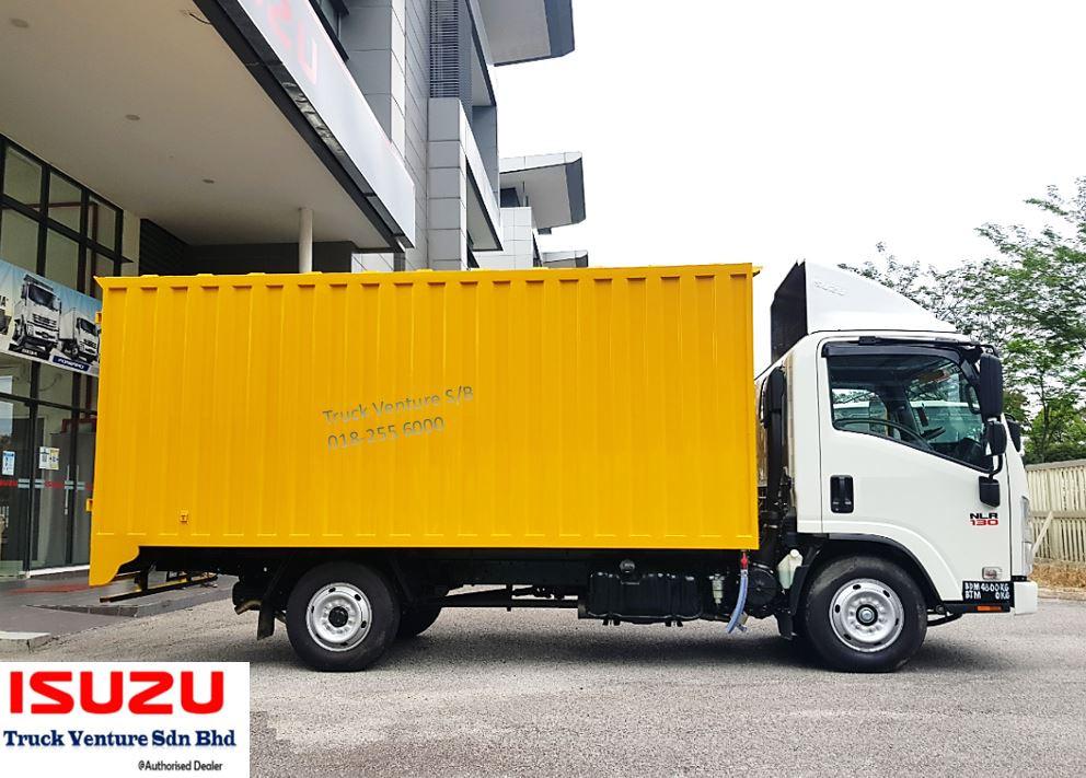 Isuzu Lorry Kotak Besi