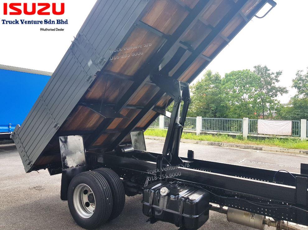 Isuzu Lorry Hydraulic Jack Wooden Tipper