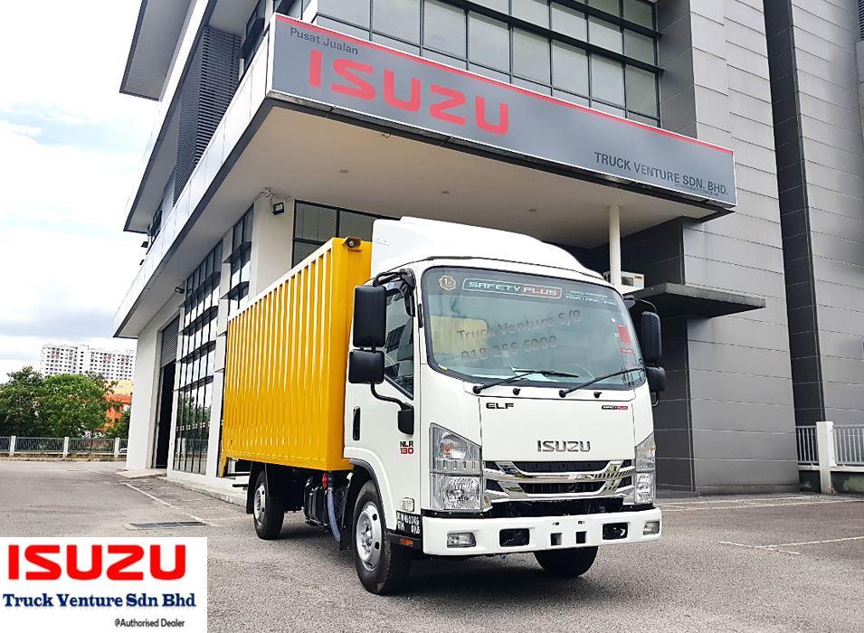 Isuzu Lorry Corrugated Box 14.5feet