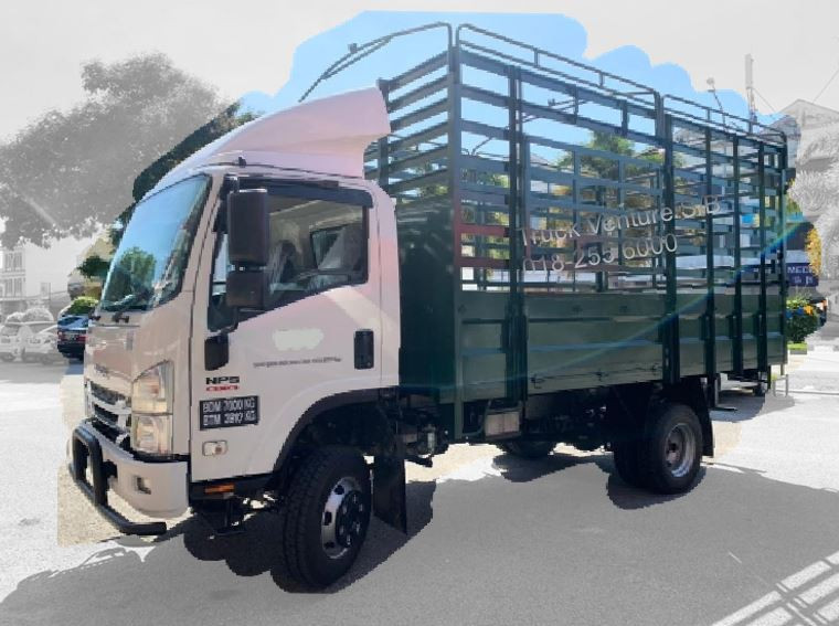 NPS 4x4 Steel Fixed Sided Lorry