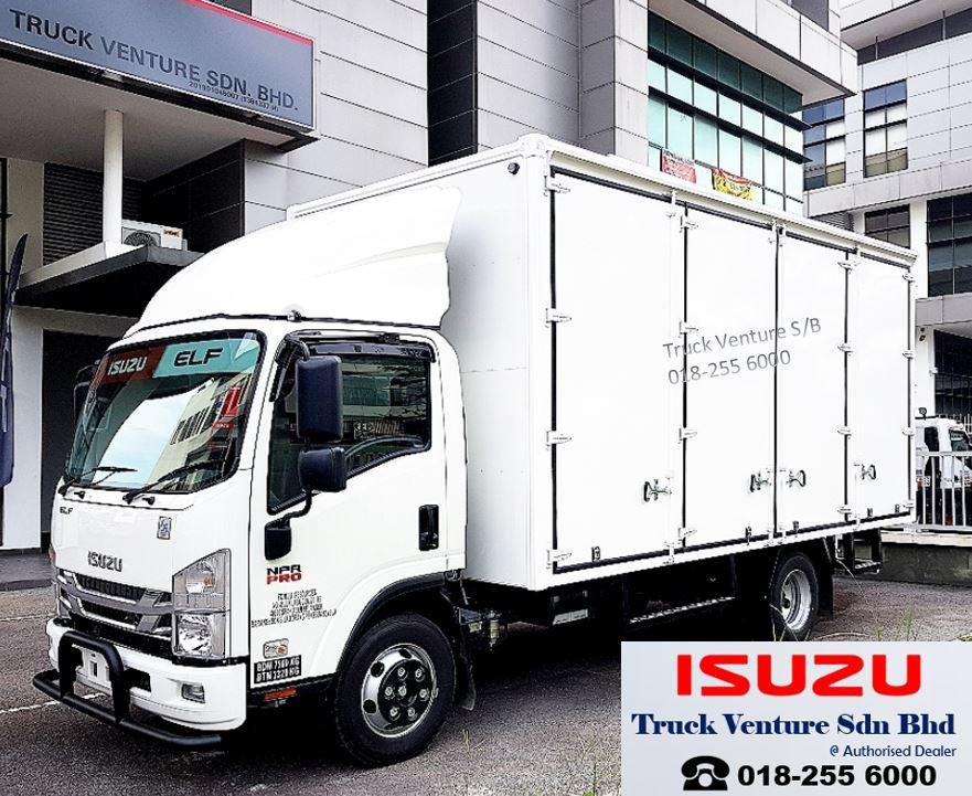 Isuzu Lorry with Aluminium Box Body