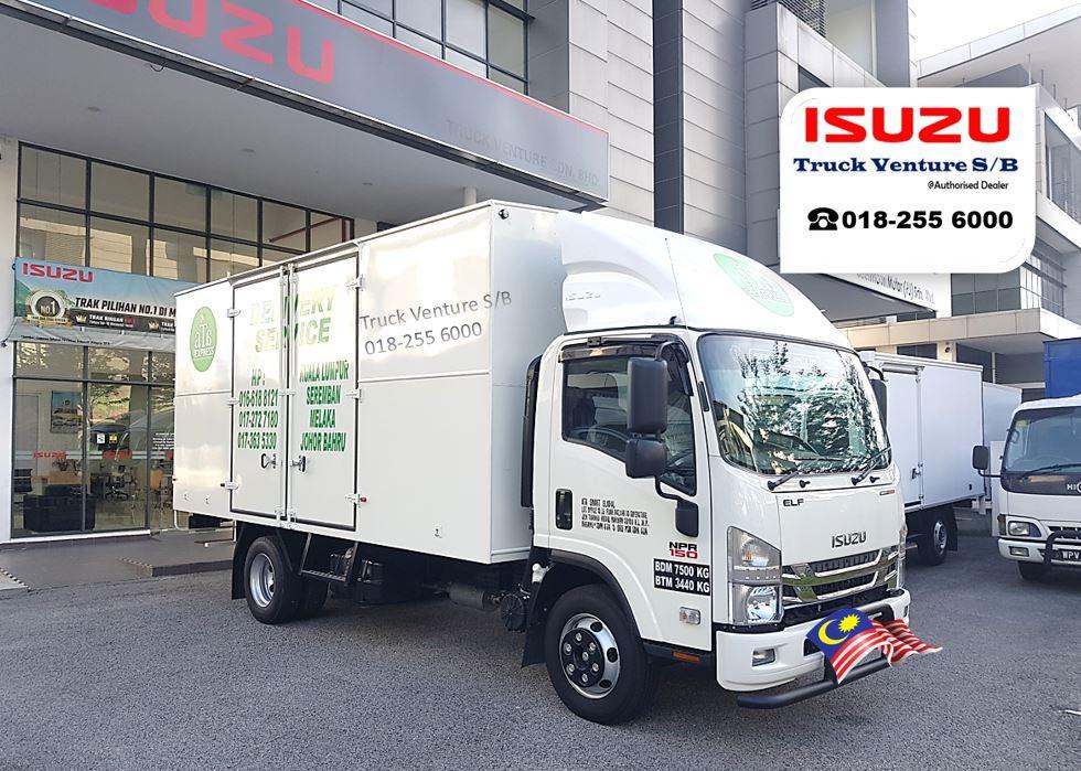 Logistics Company buys Isuzu Lorry