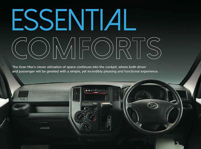 New Daihatsu Van Interior