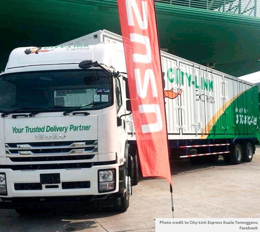 Citylink Isuzu Corrugated Box. Safest choice for courier company.
