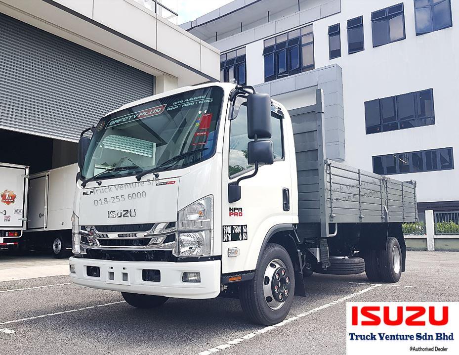 Isuzu Tipper Cargo Kayu