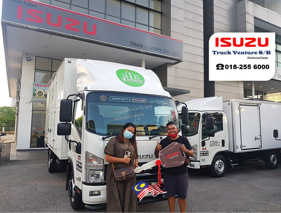 Happy Customer of Isuzu Lorry