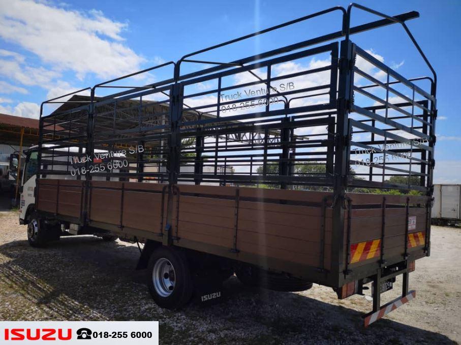 Isuzu Lorry Steel Railing and Canvas Frame