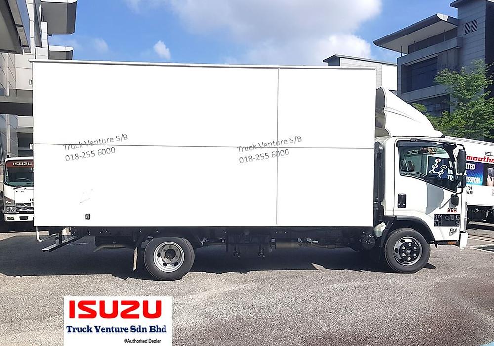Isuzu Lorry 17feet Long Chassis Bonded