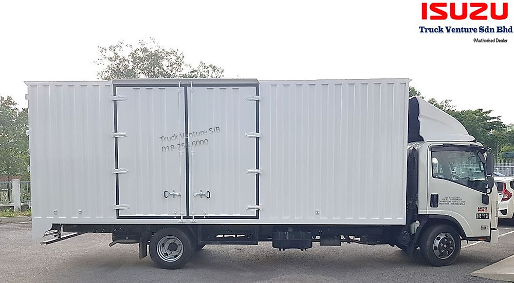 Contena Lorry with Big Container