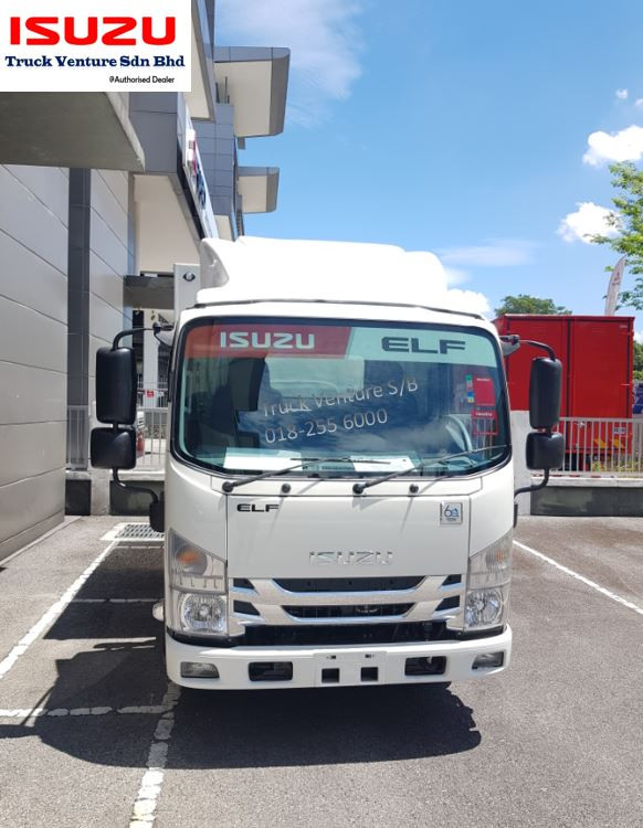 New Isuzu Lorry at Showroom