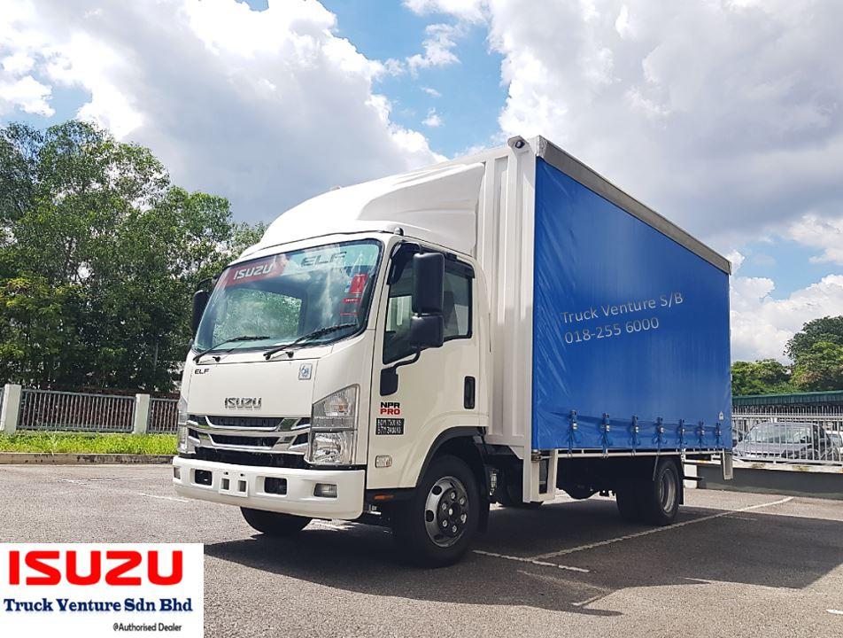 Isuzu Lorry Curtain Sider