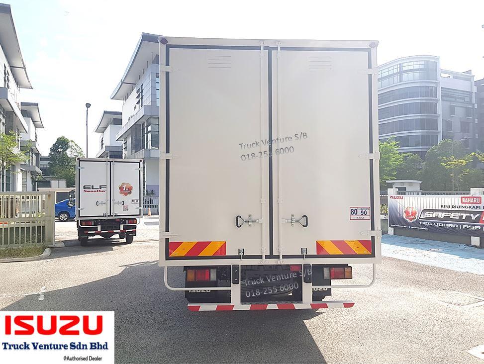 Bonded Lorry Isuzu Malaysia