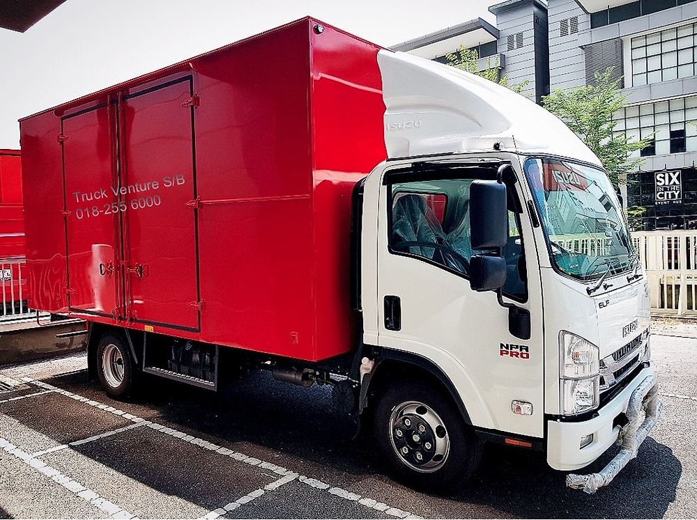 Isuzu Lorry Aluminum Box