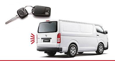 Toyota Hiace Van Alarm Remote Control