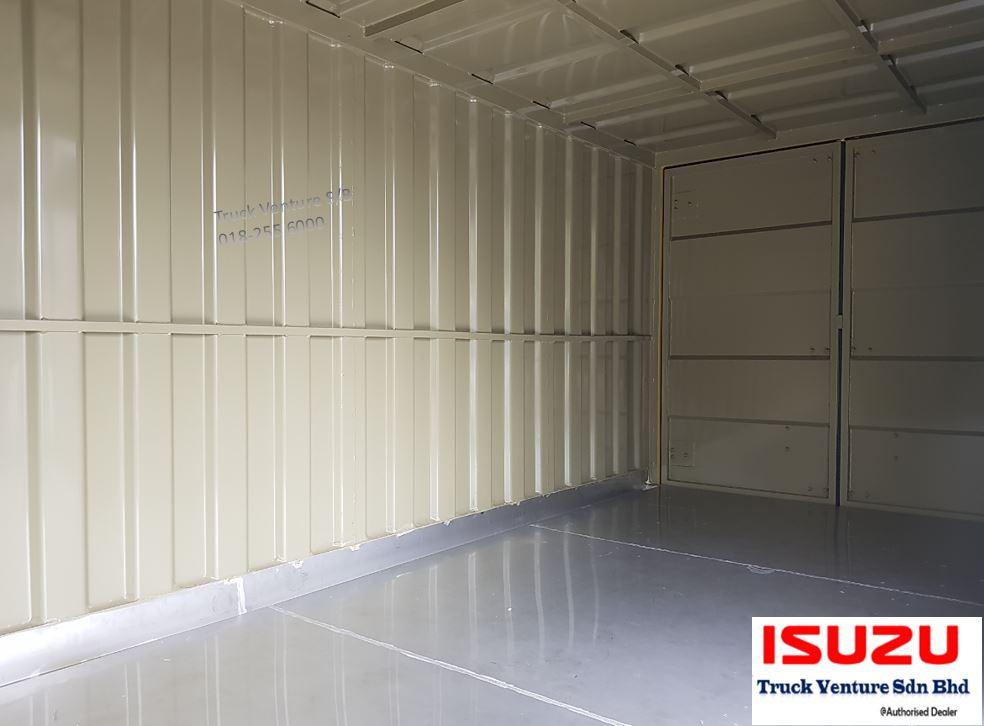 Stainless Steel Flooring for Isuzu Lorry