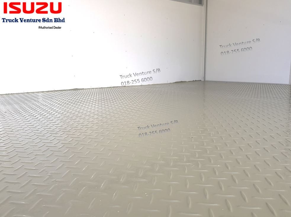 Steel Chequer Plate Flooring for Bonded Lorry
