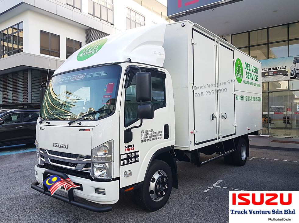 Best Dealer of Isuzu Lorry in Petaling Jaya