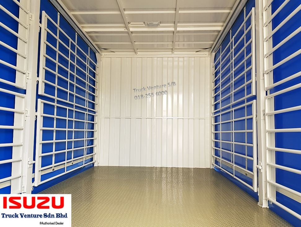 Lorry Steel Railing and 4.0mm Steel Cheq Plate Flooring