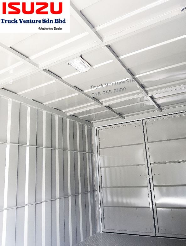 Spacious Lorry Isuzu Corrugated Box