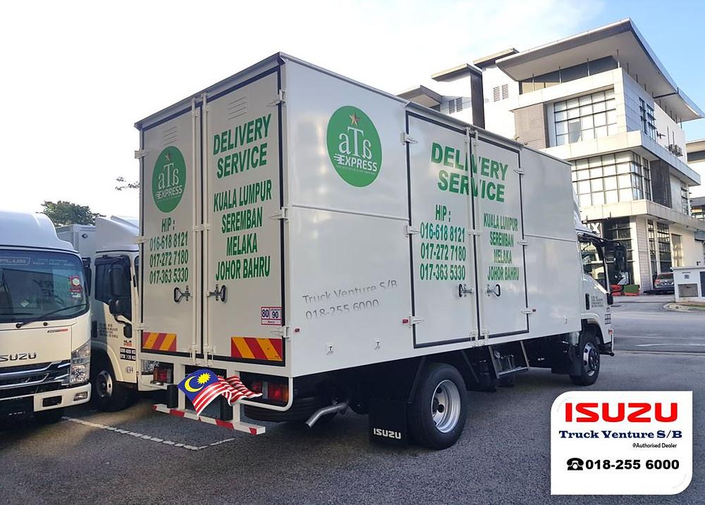 Free Sticker for New Isuzu Lorry