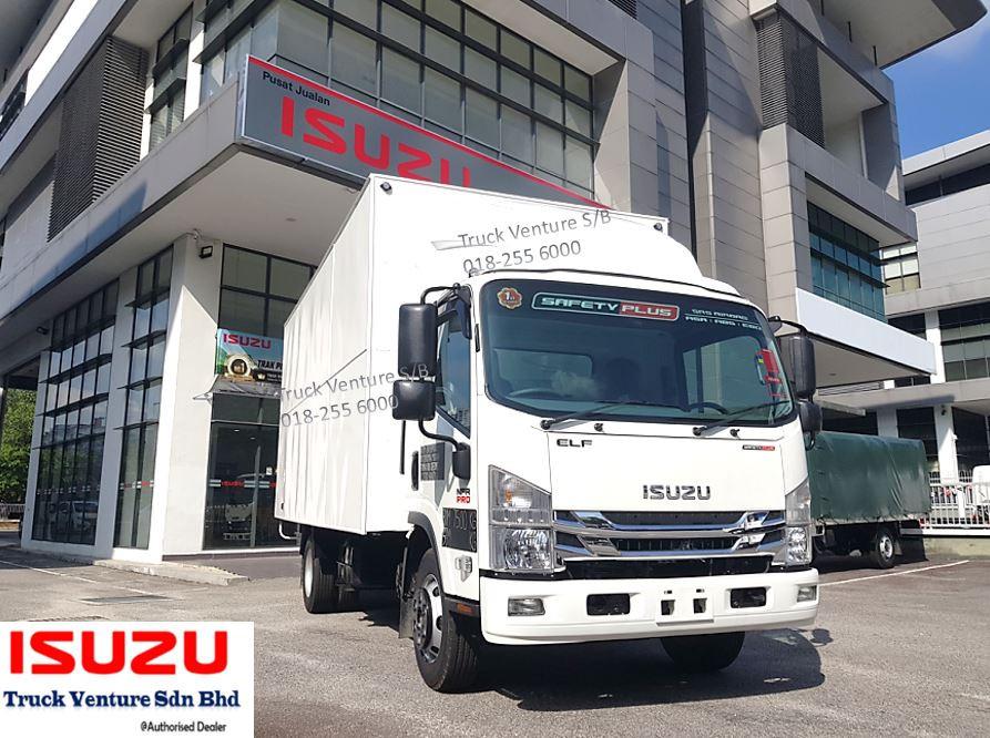 Isuzu Lorry Aluminium Box