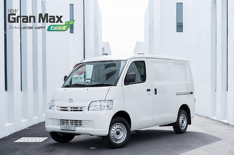 New Daihatsu Gran Max Panel Van Brochure Front Page