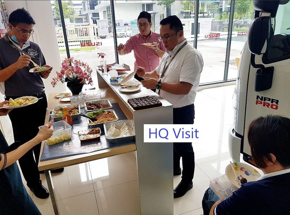 ISUZU HQ Visit
