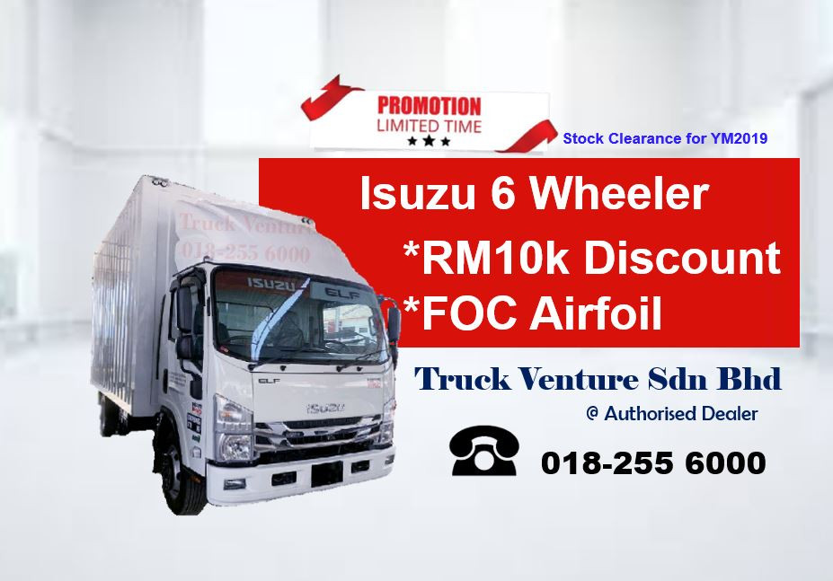 Isuzu Dealer giving out Isuzu Lorry Promotion 2020
