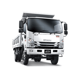 Isuzu Lorry 4x4, common body type is steel tipper and wooden tipper